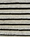 old white wood window blind texture Royalty Free Stock Photography
