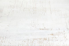 Old white wooden background Stock Photography