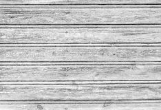 Old white wooden background. Old white wooden planks texture with weathered paint Stock Photography