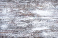 Old white wooden boards with texture for background. Horizontal frame Stock Image