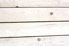 Old White Wooden Planks Stock Photos