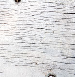 Old white wooden texture Royalty Free Stock Photography