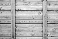 Old white wooden wall, background texture Royalty Free Stock Image