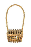 Old wicker basket Royalty Free Stock Photos