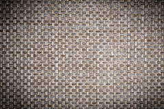 Old wicker mat texture close up Royalty Free Stock Photos