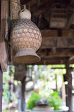 Old wicker rattan Royalty Free Stock Photography