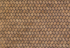 An old wicker texture background Royalty Free Stock Photography