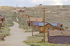 Old Wild West. Ghost Town of Bodie, California stock photos