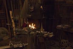 Free Old Wild West Blacksmith Shop Stock Photography - 47401482