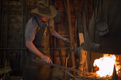 Old Wild West Blacksmith Stock Photos