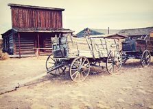 Old wild west - Cody, Wyoming, USA stock images