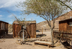 Old wild west detail Royalty Free Stock Photo