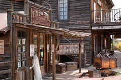 Old Wild West Town Buildings Stock Image