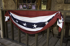 Old Wild West Town Patriotism stock images