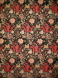 Old William Morris Wallpaper Royalty Free Stock Photo