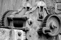 Old winch Royalty Free Stock Photo