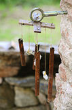 Old wind chime Royalty Free Stock Photography