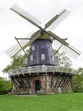 Old Wind Mill from Malmo, Sweden. Photography of the famous Old Wind Mill from Malmo  Kungsparken Park. The photography has been taken in the spring of 2018 Royalty Free Stock Images