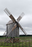 Old wind mill Stock Photo