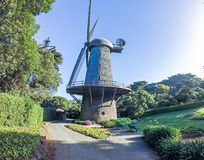 Old wind mill in san francisco california Royalty Free Stock Photography