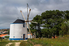 Old wind mill on Torres Vedras Portugal. Ericeira Portugal. 17 May 2017.Old wind mill on Ericeira. Ericeira, Portugal. photography by Ricardo Rocha royalty free stock photography