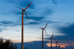 Old wind turbine Royalty Free Stock Photos