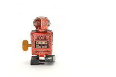 Old wind up robot Stock Photography