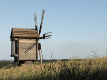 Old windmill. Stock Photo