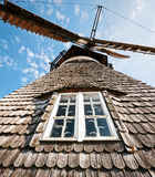 Old windmill. Typical old windmill at binz/germany Stock Photography