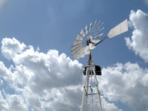 Old Windmill against sky Royalty Free Stock Image