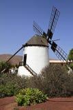 Old windmill of Antigua village, Fuerteventura Stock Photography