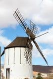 Old windmill in Antigua village, Fuerteventura, Royalty Free Stock Image