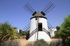 Old windmill of Antigua village, Fuerteventura Royalty Free Stock Photo