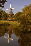 Old windmill in Bremen, Germany. Royalty Free Stock Photos