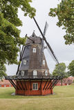 Old windmill in the Copenhagen Stock Images