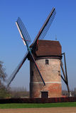 Old windmill in countryside Royalty Free Stock Image