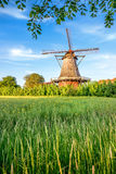 Old Windmill in the Countryside Royalty Free Stock Photo