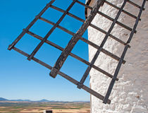 Old windmill detail Royalty Free Stock Image