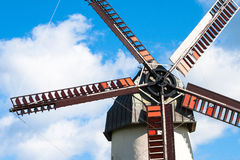 Old windmill detail Royalty Free Stock Photo