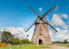 Old windmill , Europe Royalty Free Stock Images