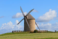 Old windmill in France Stock Photos