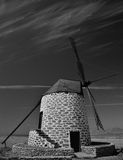 Old windmill, Fuerteventura island Stock Images