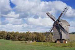 Old Windmill In Germany Stock Photos