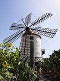 Old windmill, Grand Canary, Spain Royalty Free Stock Photo