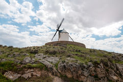 Old windmill on the hill Stock Image