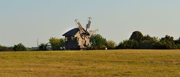 Free Old Windmill In Pirogov Museum Stock Photos - 46031433