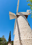 Old windmill in Jerusalem Royalty Free Stock Photo