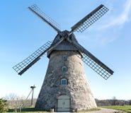 Old windmill, Latvia, Europe Royalty Free Stock Photo