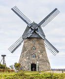 Old windmill near Cesis, Latvia, Europe Royalty Free Stock Image