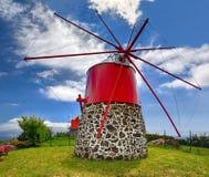 Old windmill near Conceicao Faial, Azores